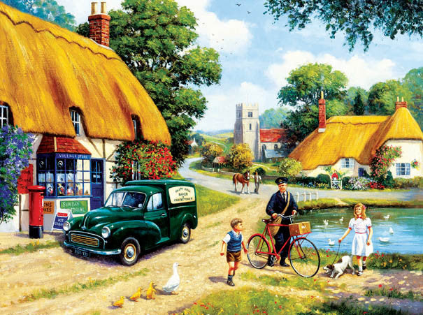 The Village Postman Jigsaw Puzzle