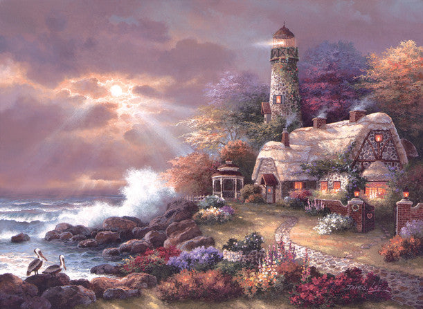 Heaven's Light Jigsaw Puzzle 1,500 Pieces James Lee - Mr Puzzle Head