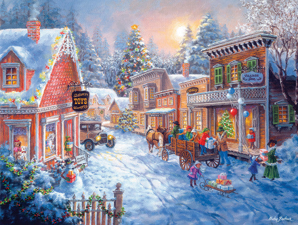 Toy Shop on Main Jigsaw Puzzle