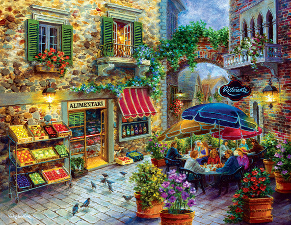 Contentment Jigsaw Puzzle 1,000+ Pieces Nicky Boehme - Mr Puzzle Head