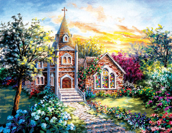 A Tranquil Setting Jigsaw Puzzle 1,000+ Pieces Nicky Boehme - Mr Puzzle Head