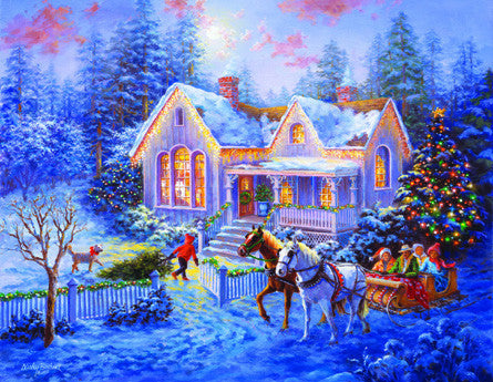 Welcome Home Jigsaw Puzzle 1,000+ Pieces Nicky Boehme - Mr Puzzle Head