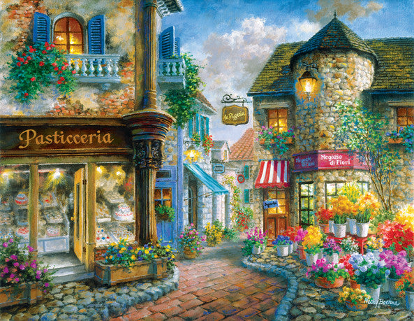 Pasticceria Jigsaw Puzzle (Discontinued) 1,000+ Pieces Nicky Boehme - Mr Puzzle Head