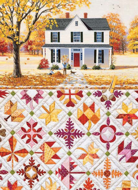 Autumn Leaves Jigsaw Puzzle  Rebecca Barker - Mr Puzzle Head