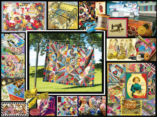 Quilt Montage Jigsaw Puzzle 1,000 Pieces Lois B. Sutton - Mr Puzzle Head