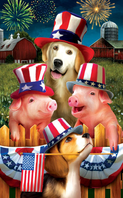 Fourth on the Farm Jigsaw Puzzle