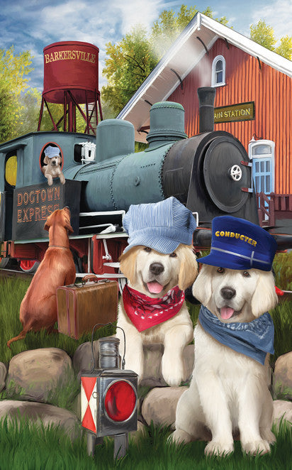 Dogtown Express Jigsaw Puzzle