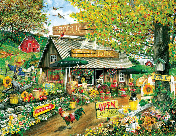 The Produce Stand Jigsaw Puzzle