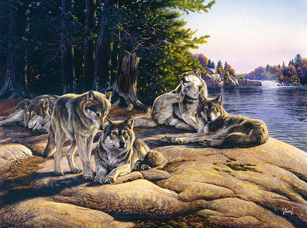 Wolf Ridge Jigsaw Puzzle 1,000 Pieces Al Agnew - Mr Puzzle Head