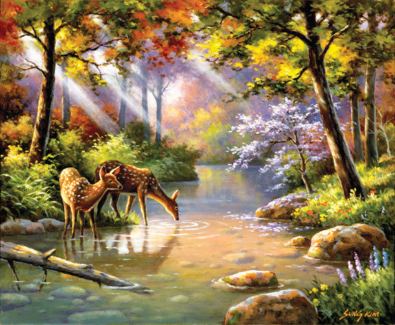 Does Re Me Creek Jigsaw Puzzle