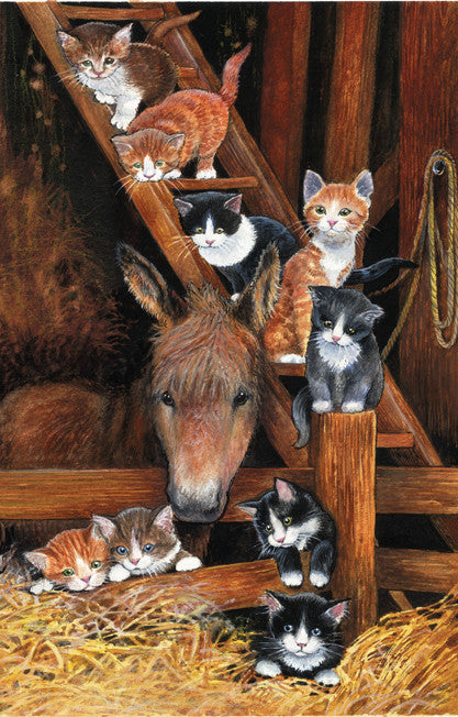 Barn Cats Jigsaw Puzzle 1,000 Pieces Chrissy Snelling - Mr Puzzle Head