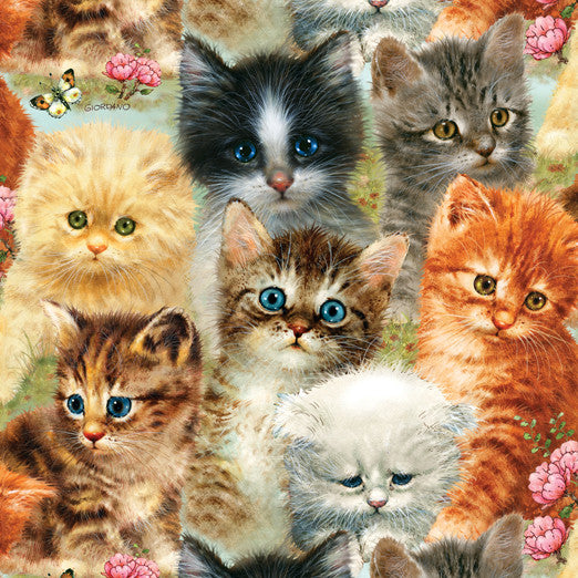 A Pile of Kittens Jigsaw Puzzle 1,000 Pieces Giordano Studios - Mr Puzzle Head