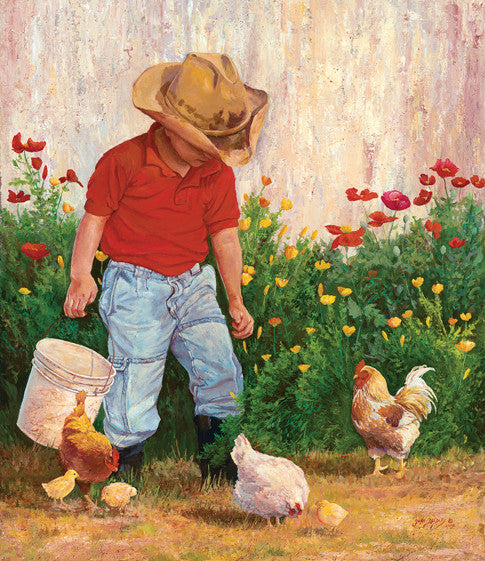 Country Boy Jigsaw Puzzle