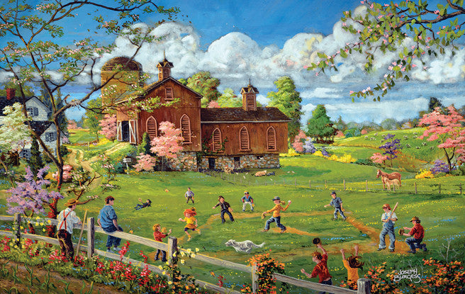 A Baseball Time of Year Jigsaw Puzzle 300 Pieces Joseph Burgess - Mr Puzzle Head