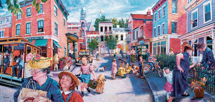 City Streets Jigsaw Puzzle
