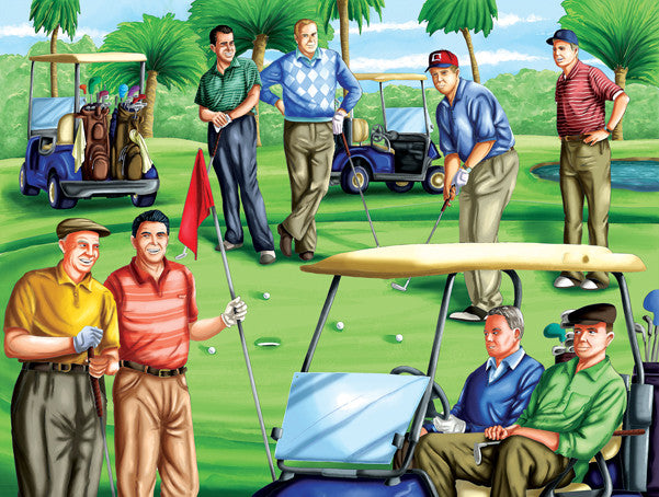 Fore! Republicans Jigsaw Puzzle