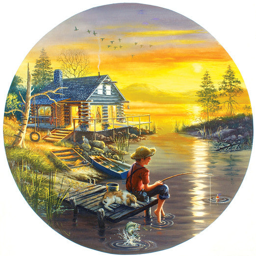 Fishing for Dreams Jigsaw Puzzle