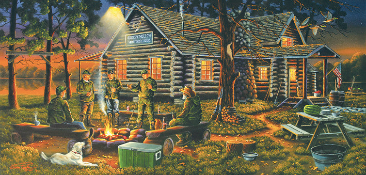 Campfire Memories Jigsaw Puzzle