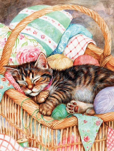A Soft Place to Rest Jigsaw Puzzle 500 Pieces Debbie Cook - Mr Puzzle Head