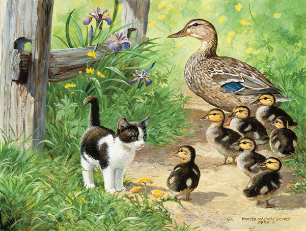 Duck Inspector Jigsaw Puzzle 500 Pieces Persis Clayton Weirs - Mr Puzzle Head