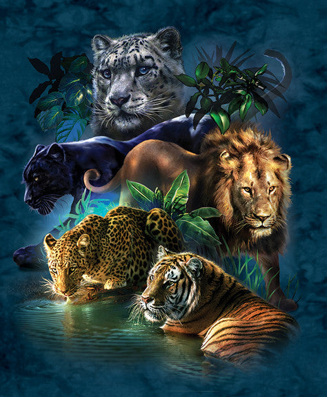 Big Cat Prowess Jigsaw Puzzle 1,000 Pieces Tami Alba - Mr Puzzle Head