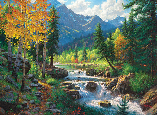 Mountain Medley Jigsaw Puzzle
