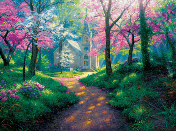 Spring Chapel Jigsaw Puzzle