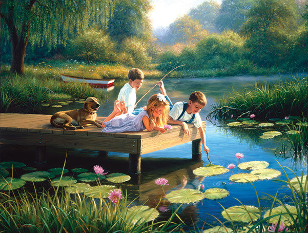 A Time to Play Jigsaw Puzzle 500 Pieces Mark Keathley - Mr Puzzle Head