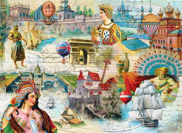 Majestic Kingdoms Jigsaw Puzzle 500+Pieces Finchley Paper Arts, Ltd - Mr Puzzle Head