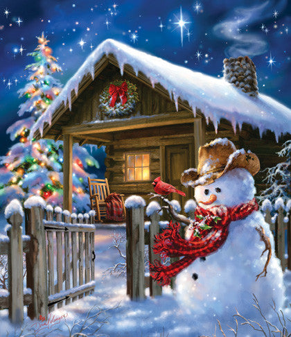 Christmas Cheer Jigsaw Puzzle 550 Pieces Dona Gelsinger - Mr Puzzle Head
