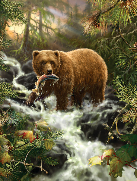 Grizzly Gorge Jigsaw Puzzle