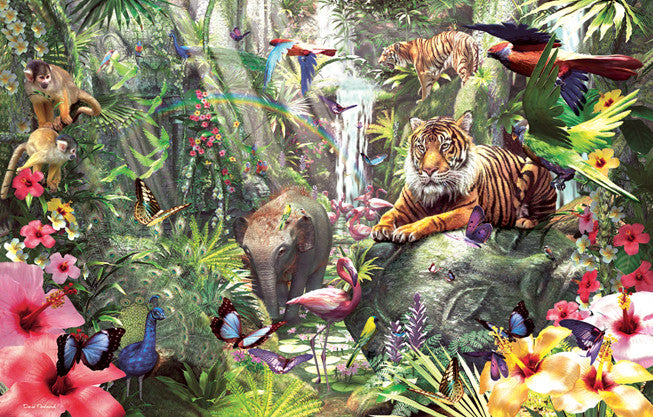 Asian Rainforest Jigsaw Puzzle  David Penfound - Mr Puzzle Head