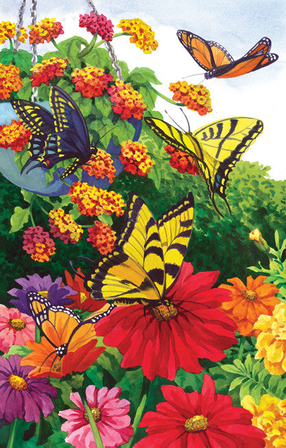 A Garden of Butterflies Jigsaw Puzzle 1,000 Pieces Nancy Wernersbach - Mr Puzzle Head