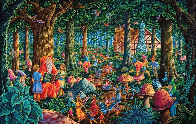 Fairytale Forest Jigsaw Puzzle