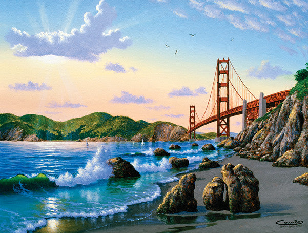 Bridge View Jigsaw Puzzle 500 Pieces Eduardo Camoes - Mr Puzzle Head
