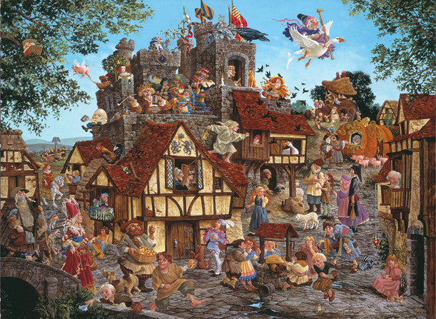 Rhymes and Reasons Jigsaw Puzzle 1,500 Pieces James Christensen - Mr Puzzle Head