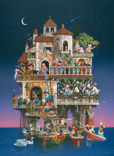 Superstitions Jigsaw Puzzle 1,500 Pieces James Christensen - Mr Puzzle Head