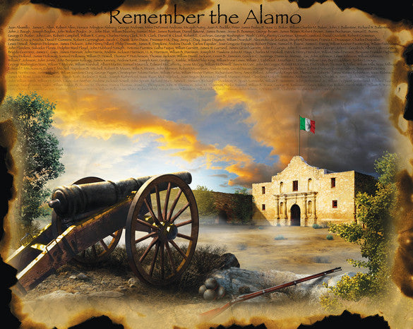 Remember the Alamo Jigsaw Puzzle 1,000+ Pieces Jim Todd - Mr Puzzle Head