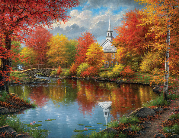 Autumn Tranquility Jigsaw Puzzle  Abraham Hunter - Mr Puzzle Head