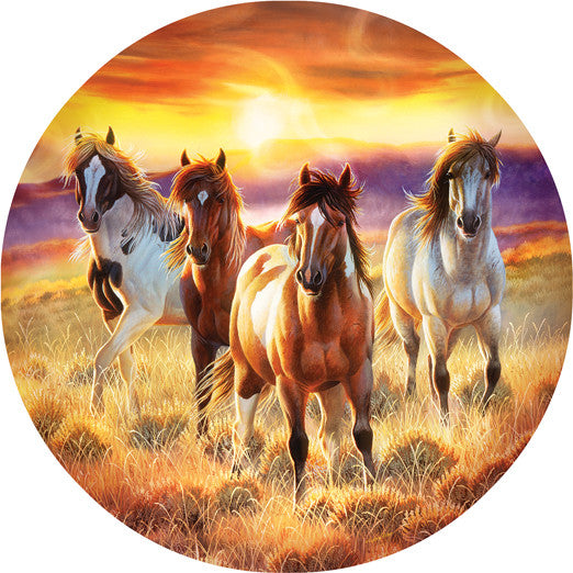 Running in the Sun Jigsaw Puzzle