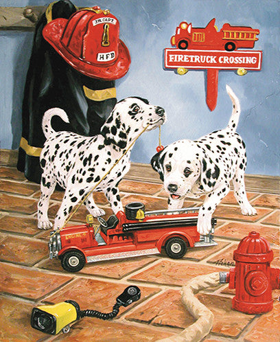 All Fired Up Jigsaw Puzzle 200 Pieces Linda Picken - Mr Puzzle Head