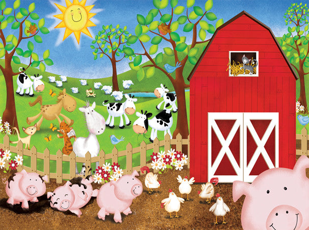 Animal Farm Jigsaw Puzzle  Victoria Hutto - Mr Puzzle Head