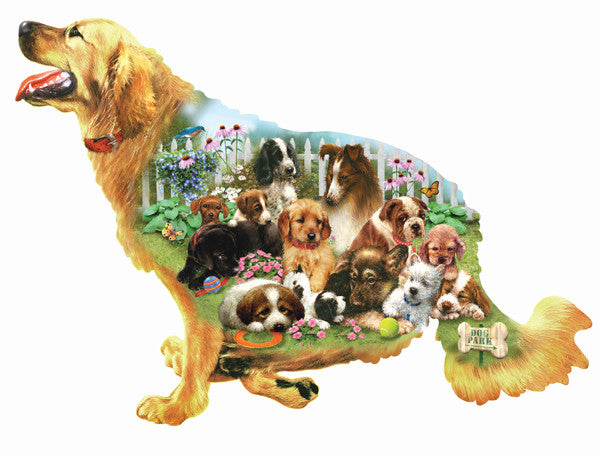 Waiting for a Walk Jigsaw Puzzle 800 Shaped Pieces Giordano Studios - Mr Puzzle Head