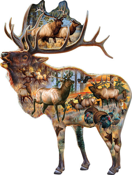 Bugle Call Jigsaw Puzzle 800 Shaped Pieces Cynthie Fisher - Mr Puzzle Head