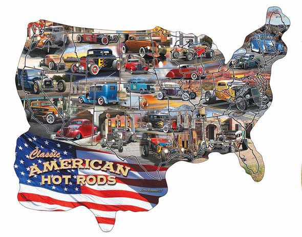 Hot Rod USA! Jigsaw Puzzle
