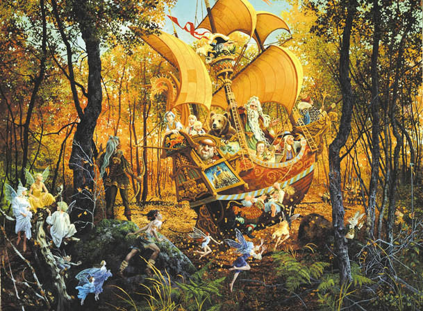 Flight of the Fablemaker Jigsaw Puzzle 1,500 Pieces James Christensen - Mr Puzzle Head