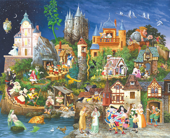 Fairy Tales Jigsaw Puzzle 1,500 Pieces James Christensen - Mr Puzzle Head