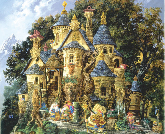 College of Magical Knowledge Jigsaw Puzzle 1,500 Pieces James Christensen - Mr Puzzle Head