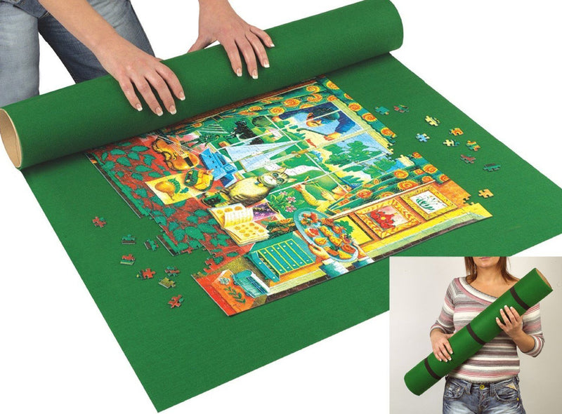 Jigsaw Puzzle Roll Up Mat Sunsout Unknown - Mr Puzzle Head