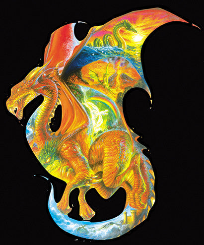 Dragon Dreams Jigsaw Puzzle 1,000 Shaped Pieces Bob Eggleton - Mr Puzzle Head
